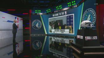 Draft NBA, Minnesota sceglie Anthony Edwards