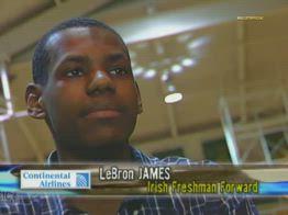 NBA, LeBron James al primo anno di liceo
