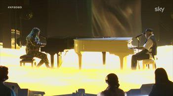 Casadilego canta CATRAME con Lazza alla Semifinale
