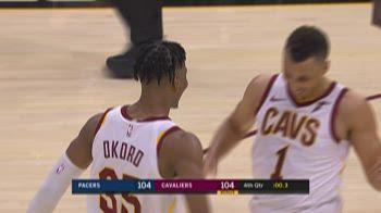 NBA Preseason: Cleveland-Indiana 107-104