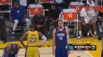 NBA, LeBron vs. panchina Clippers: trash talking nel derby