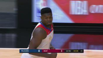 NBA Christmas Day, 32 punti per Zion Williamson vs Miami