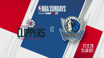 NBA Sundays: Clippers-Dallas alle 21.30 su Sky Sport