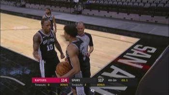 NBA Highlights: San Antonio-Toronto 119-114