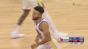 NBA, 36 punti di Steph Curry vs. Chicago
