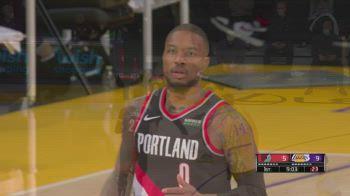 NBA, 31 punti per Damian Lillard contro i Lakers