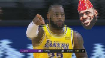 NBA Highlights: San Antonio-Los Angeles Lakers 107-121