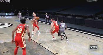 NBA, l'infortunio alla caviglia di Gallinari contro i Nets