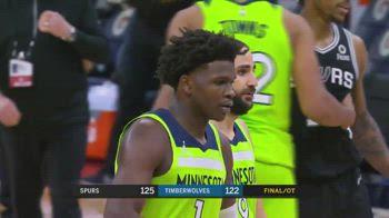 NBA, l'errore di Edwards contro Minnesota