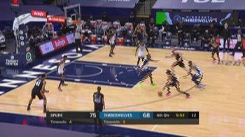 NBA Highlights: Minnesota-San Antonio 96-88