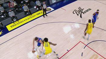 NBA, la tripla doppia di Nikola Jokic contro Golden State