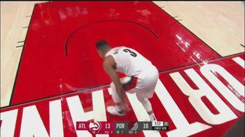 NBA, infortunio al piede sinistro per CJ McCollum