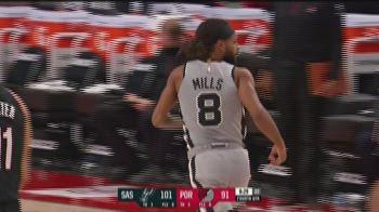 NBA Highlights: Portlland-San Antonio 104-125