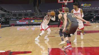 NBA, i 32 punti di Victor Oladipo all'esordio con Houston