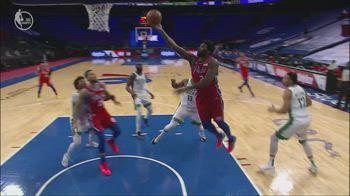 NBA, i 38 punti di Joel Embiid contro Boston