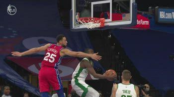 NBA, i 42 punti di Jaylen Brown contro Philadelphia