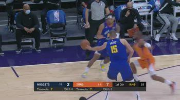 NBA, i 31 punti di Nikola Jokic contro Phoenix