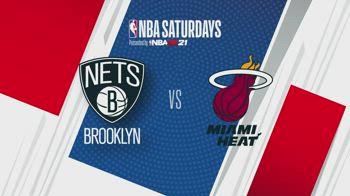 NBA Saturdays: Brooklyn-Miami alle 2 su Sky Sport