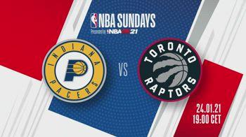 NBA Sundays: Indiana-Toronto alle 19 su Sky Sport