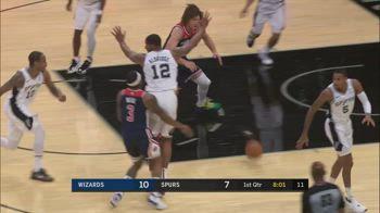 NBA, i 31 punti di Bradley Beal contro San Antonio