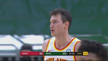 NBA, i 17 punti di Danilo Gallinari contro Milwaukee