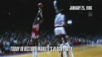 NBA, 15 stoppate di Manute Bol vs. Atlanta