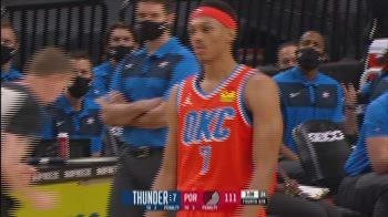 NBA Highlights: Portland-OKC 122-125
