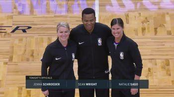 NBA, due donne arbitro insieme: prima volta nella storia