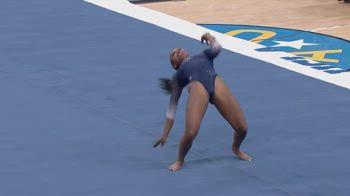 nia dennis ginnastica artistica ucla blackexcellence