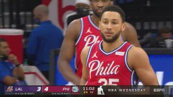 NBA, tripla doppia di Simmons vs. Lakers