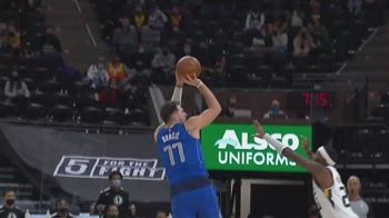 NBA, i 30 punti di Luka Doncic contro Utah