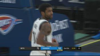 NBA Highlights: Oklahoma City-Brooklyn 125-147