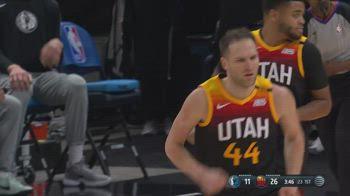NBA, i 32 punti di Bojan Bogdanovic contro Dallas