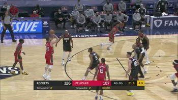 NBA, i 4 punti di Nicolò Melli contro Houston