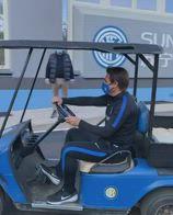 inter conte pinetina macchina golf