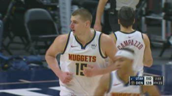 NBA Highlights: Denver-Utah 128-117