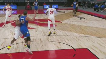 NBA, scontro durissimo tra Aaron Gordon e Kyle Lowry