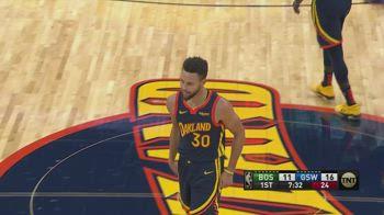 NBA, 38 punti di Curry vs. Boston