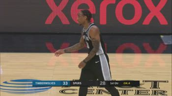 NBA, i 30 punti di DeMar DeRozan contro Minnesota