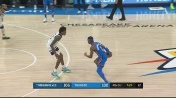 NBA, 31 punti per Shai Gilgeous-Alexander contro Minnesota