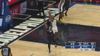NBA, 33 punti per Joel Embiid contro Brooklyn