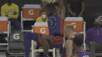 NBA, 32 punti per Jerami Grant contro i Lakers