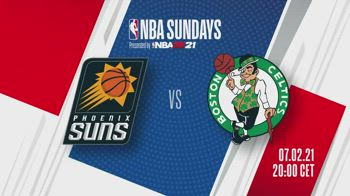 NBA Sundays: Phoenix-Boston alle 20 su Sky Sport NBA