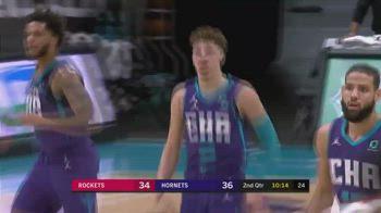 NBA: 24 punti, 7 triple e 10 assist per LaMelo Ball