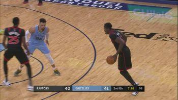 NBA, i 32 punti di Pascal Siakam contro Memphis