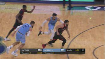 NBA, i 32 punti di Fred VanVleet contro Memphis