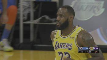 NBA, tripla doppia di LeBron James vs. OKC