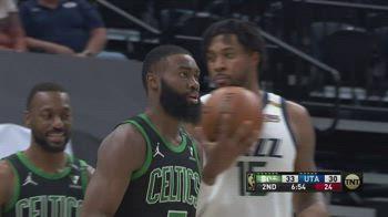 NBA, 33 punti per Jaylen Brown contro Utah