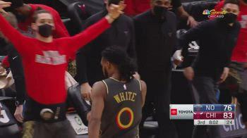 NBA, i 30 punti di Coby White contro New Orleans