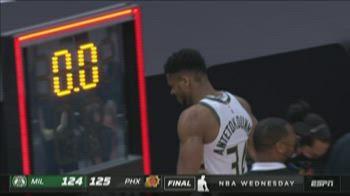 NBA Highlights: Phoenix-Milwaukee 125-124